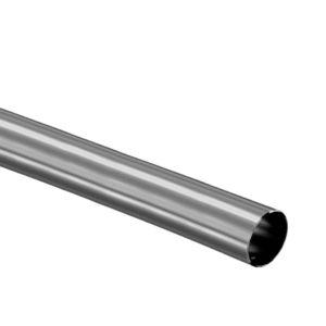 Stainless Steel 316 Grade Tube 1 X 2 X 30 18 Gauge Satin Finish Top Hardware